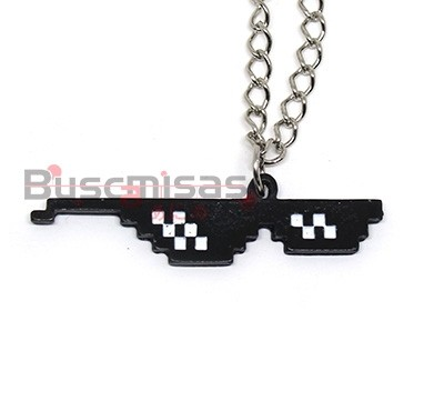 NRD-17 - Colar Oculos Thug Life