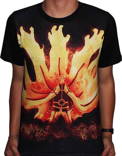 Camisa FULL Kurama Gaiden - Boruto Naruto