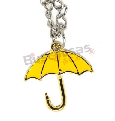 HOW-01 - Colar Yellow Umbrella - How I Met You Mother