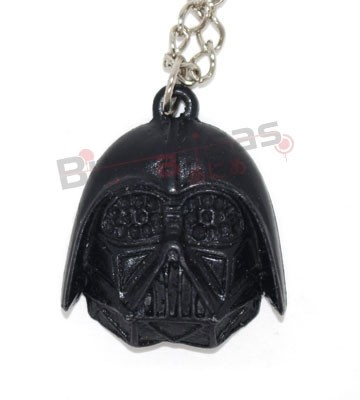 STW-09 - Colar Darth Vader Preto - Star Wars