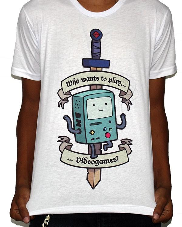 Camisa SB BMO - Adventure Time