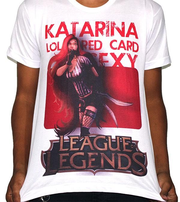 Camisa SB Katarina - League of Legends - LOL