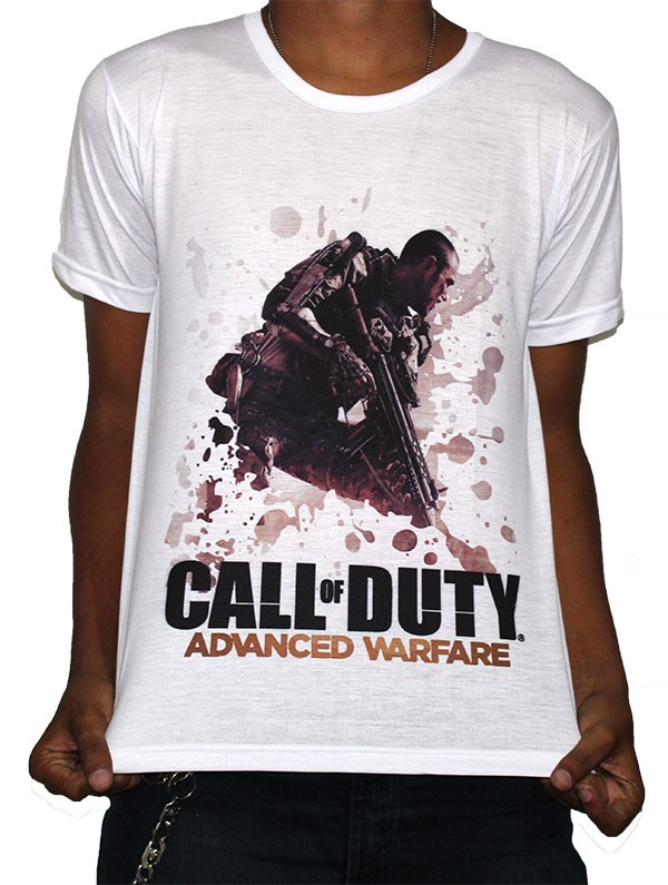 Camisa SB Advanced Warfare - Call of Duty