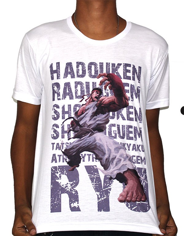 Camisa SB Ryu - Street Fighter