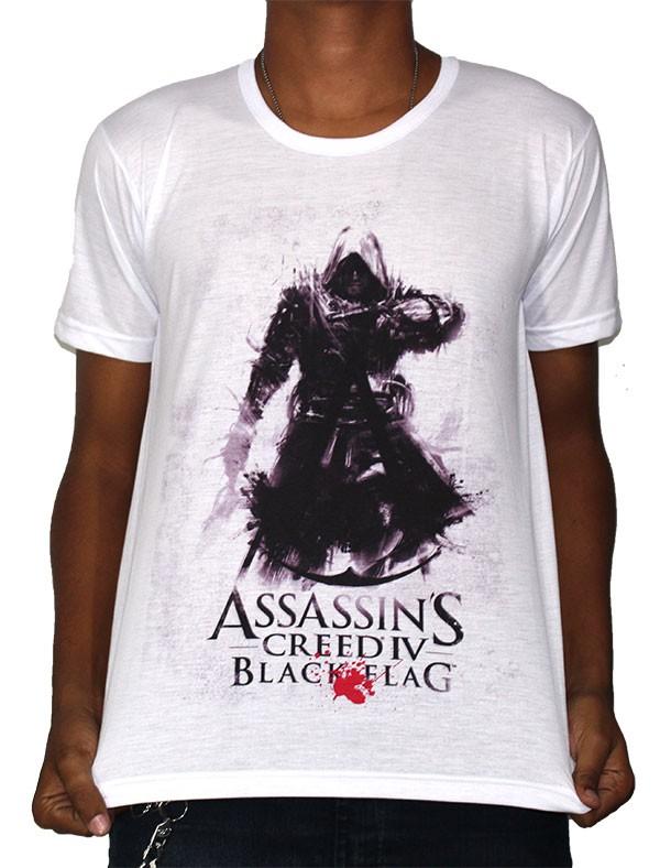 Camisa SB Black flag - Assassins creed