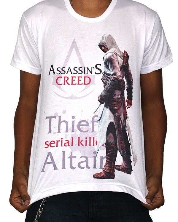 Camisa SB Altair - Assassins creed