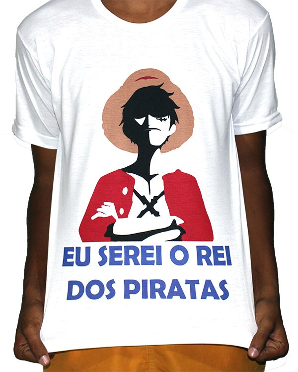 Camisa VA  - One Piece Luffy Rei dos Piradas