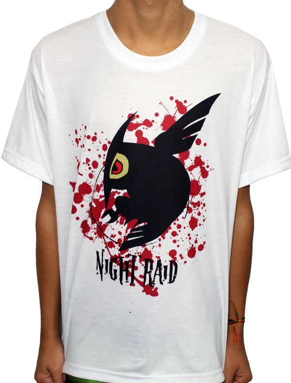 Camisa VA - Night Raid Mod2 - Akame ga Kill