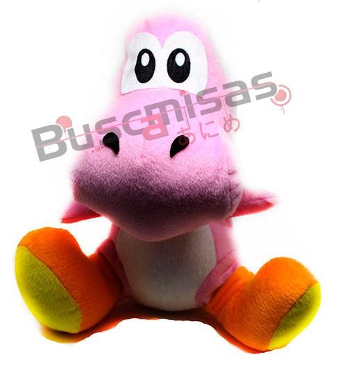 CPANB-06 - Pelúcia Yoshi Rosa - Super Mario Bros