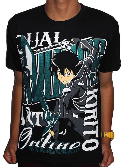 Camisa Sword Art Online - Kirito