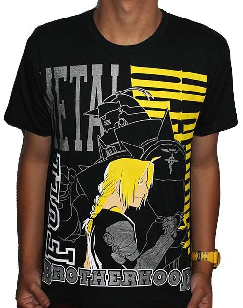 Camisa Fma - Edward e Alphonse