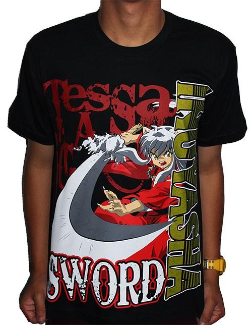 Camisa Inuyasha Tessaiga