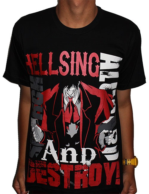 Camisa Hellsing - Alucard