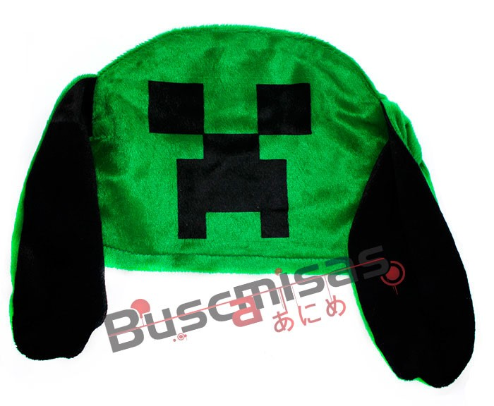 Touca Orelha Creeper - Minecraft
