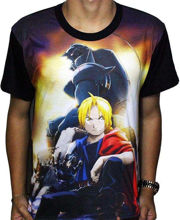 Camisa FULL Brotherhood - Fullmetal Alchemist