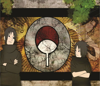 Mouse Pad - Itachi e Sasuke