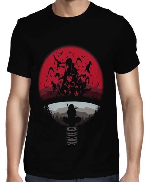 Camisa FULL Uchiha Moon Itachi - Naruto