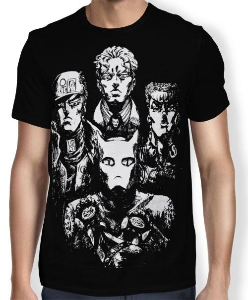 Camisa FULL Bohemian Rhapsody - Jojo's Bizarre Adventure