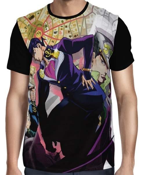 Camisa FULL JoJo No Kimyou Na Bouken: Diamond Wa Kudakenai - JoJo's Bizarre Adventure