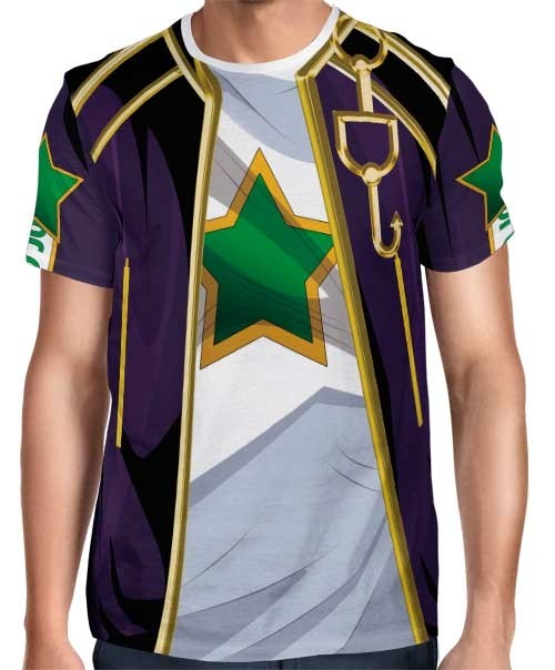 Camisa Full Print Uniforme Jotaro Joestar - Jojo's Bizarre Adventure