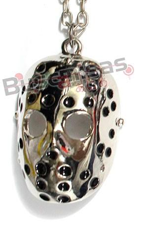 JS-01 - Colar Mascara do Jason