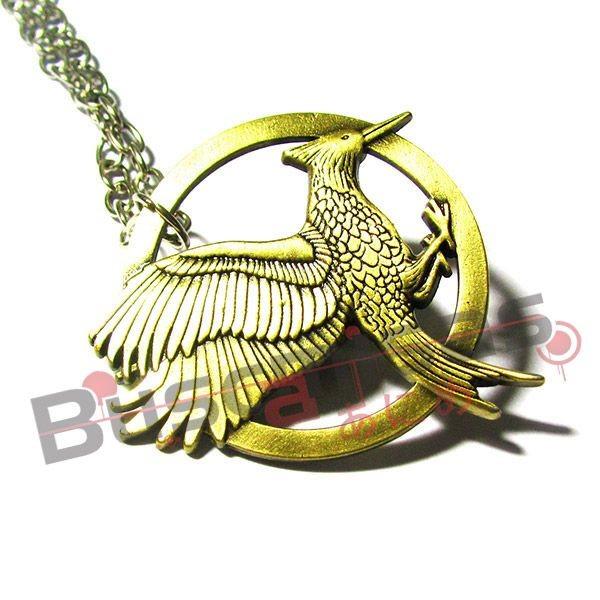 JV-02 - Colar Tordo em Chamas - Jogos Vorazes - Hunger Games