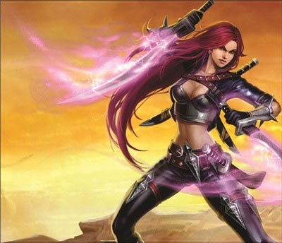 Mouse Pad - Katarina - League of Legends