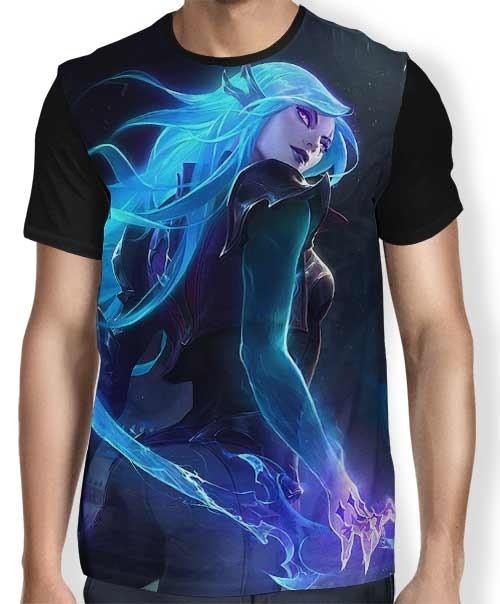 Camisa FULL Katarina - League of Legends