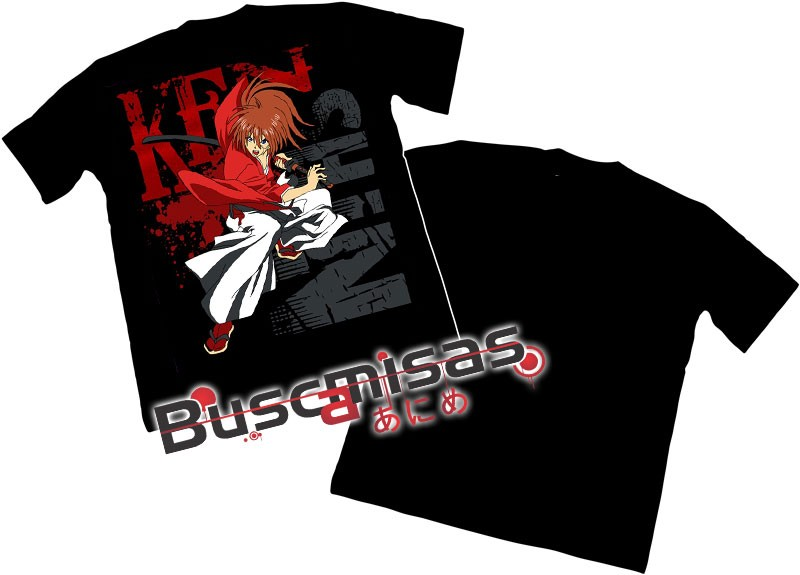 Camisa samurai X- Rurouni kenshin  - Modelo 04
