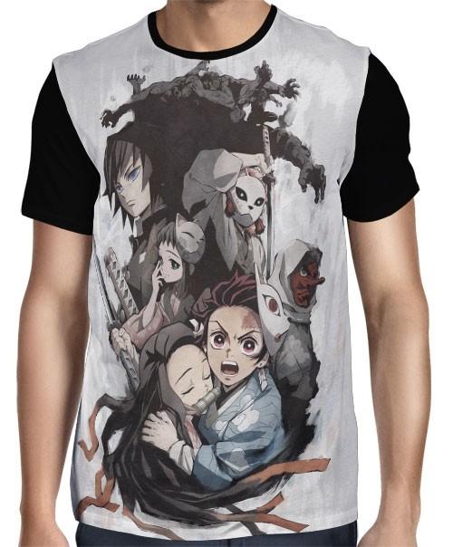 Camisa FULL Demon Slayer: Kimetsu no Yaiba
