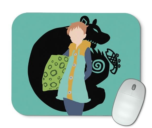 Mouse Pad - King - Nanatsu No Taizai