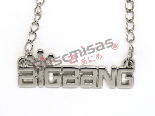 KPOP-23 - Colar Logo Big Bang - K-Pop