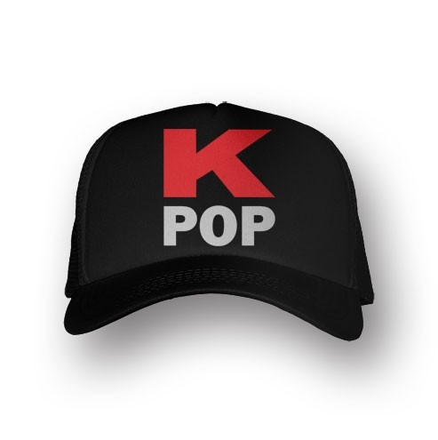 Boné Trucker K-POP - Preto