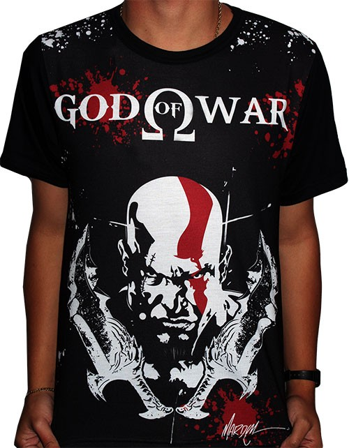 Camisa FULL Kratos - God Of War