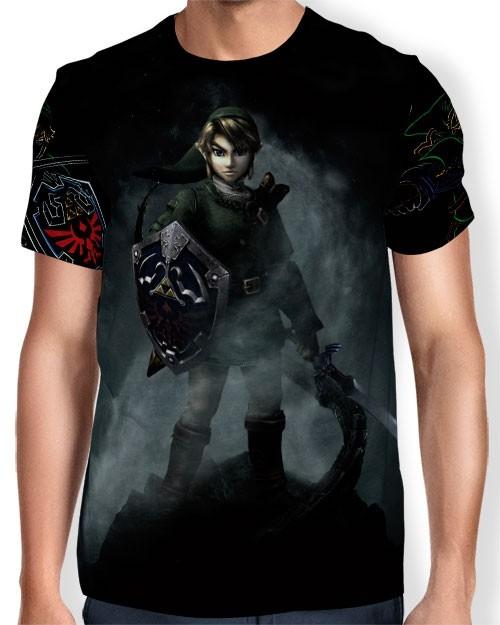 Camisa Full Print - Link - Legend Of Zelda