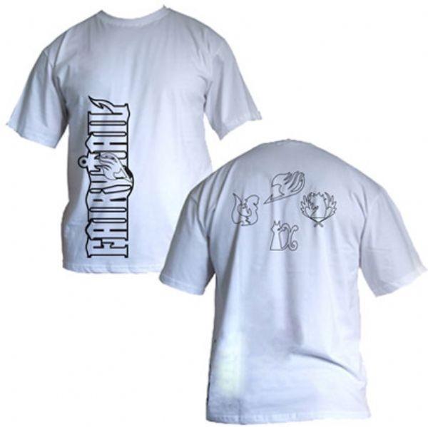 Camisa Fairy Tail - Logo - Modelo 01