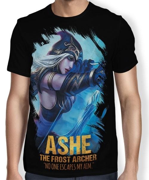 Camisa FULL Frost Acher Ashe - League of Legends