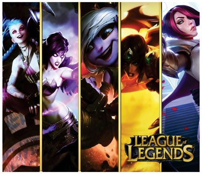 Mouse Pad - GIRLS - League of Legends