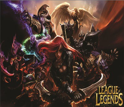 Mouse Pad - LOL Poster - League of Legends