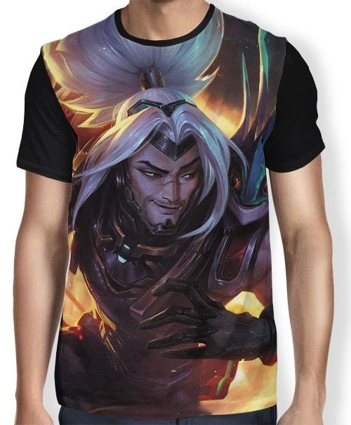 Camisa FULL Yasuo Odisséia - League of Legends