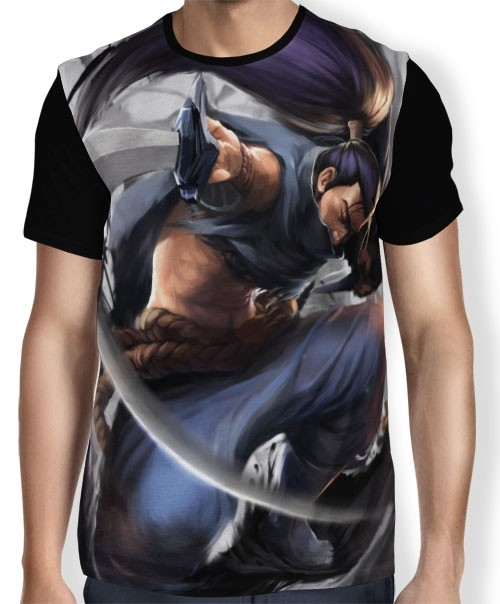 Camisa FULL Yasuo - League of Legends