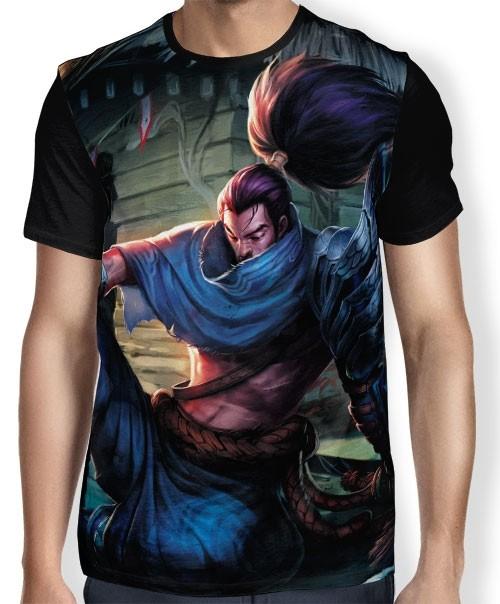 Camisa FULL Yasuo o Imperdoável - League of Legends