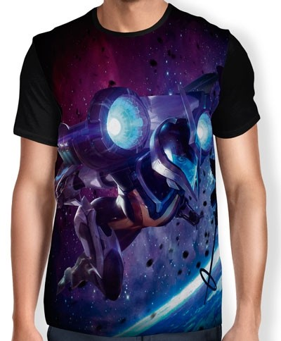Camisa FULL Print Bullet Angel Kai'Sa- League of Legends