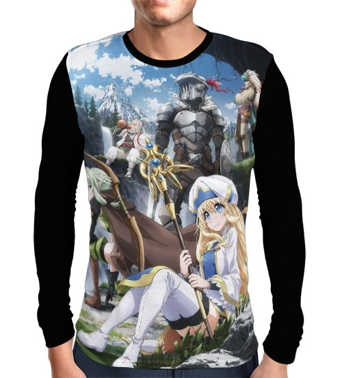 Camisa Manga Longa Art Guild - Goblin Slayer