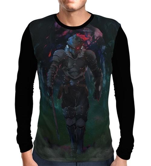 Camisa Manga Longa Silver Ranked Adventurer - Goblin Slayer