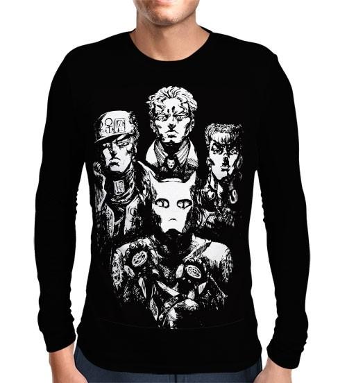 Camisa Manga Longa Bohemian Rhapsody - Jojo's Bizarre Adventure