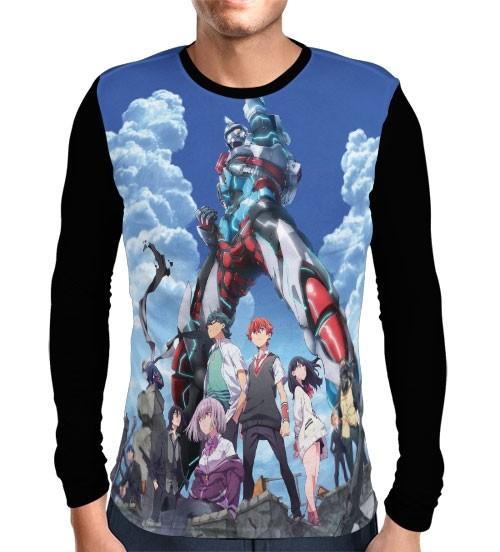 Camisa Manga Longa SSSS Gridman