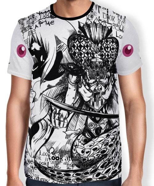 Camisa FULL Print Grief Seed - Madoka Magica