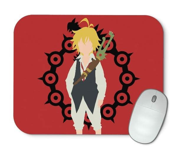 Mouse Pad - Meliodas - Nanatsu No Taizai