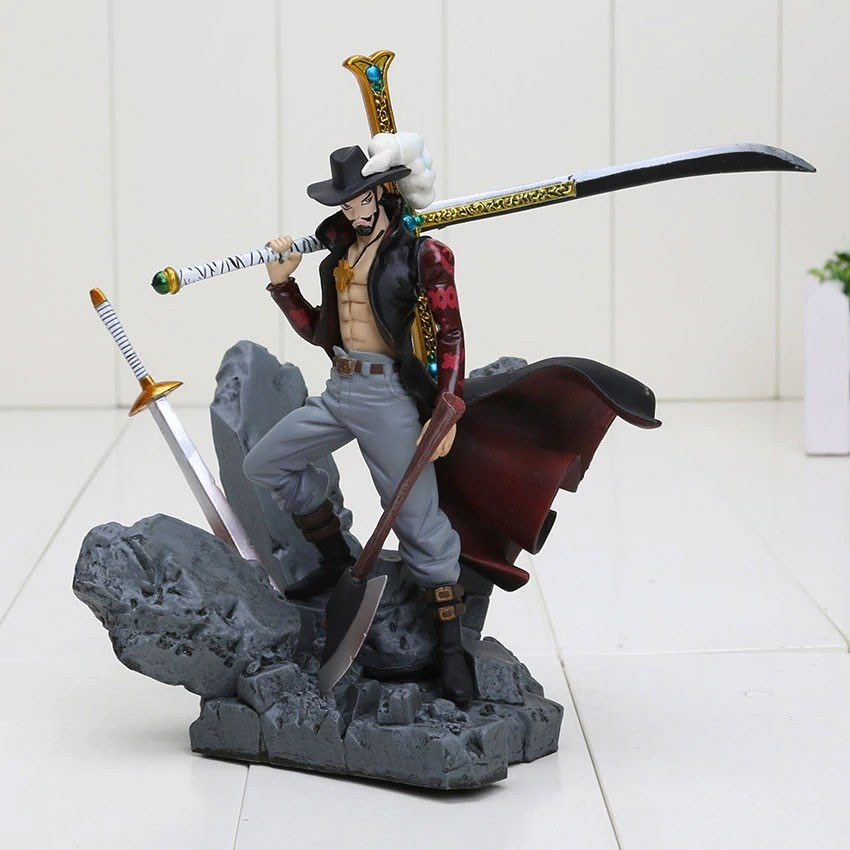 Action Figure Dracule Mihawk - One Piece